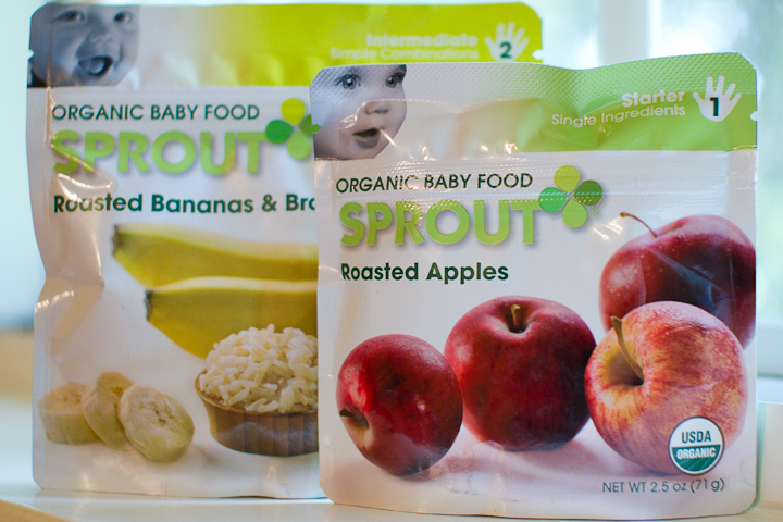 a few of my favorite things - sprout organic baby food: roasted apples.